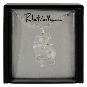 Robert Lee Morris Silvertone Necklace